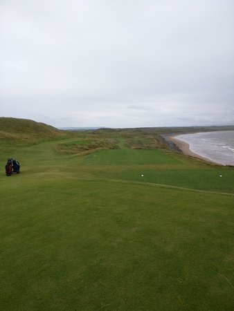 Ballybunion, Irland: Don't miss right