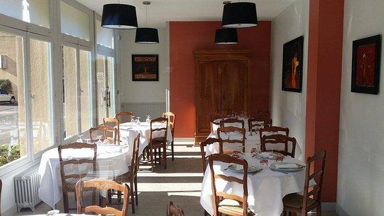 Cluny, Frankrijk: Salle de restaurant