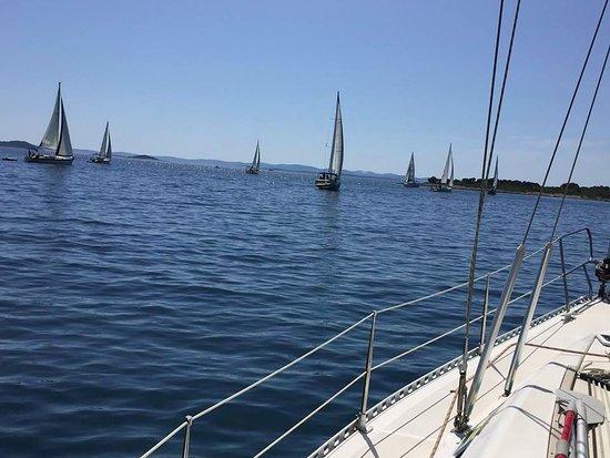 Murter, Chorwacja: And their off
