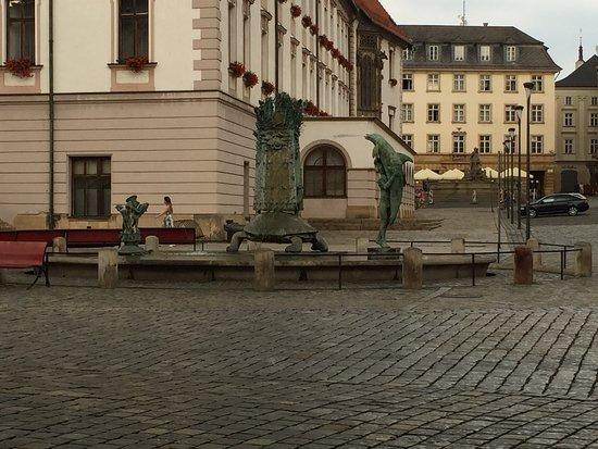 Olomouc, Tsjekkia: Arionova kašna