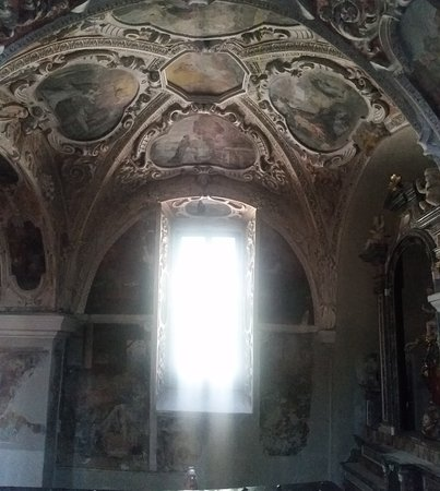 Muralto, สวิตเซอร์แลนด์: baroque elements in one of the wings