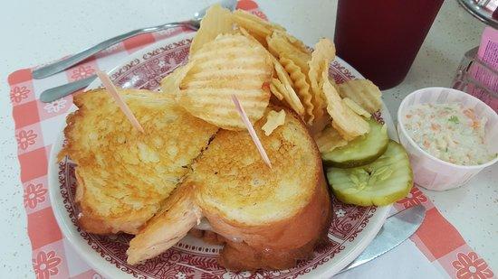 Frackville, Пенсильвания: Her Terrific Grilled Cheese