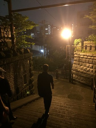 Haunted Tokyo Tours: steps