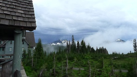 Mount Rainier: View from Paradise Inn