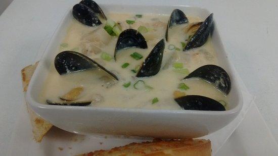 Dartmouth, Canada: Seafood Chowder