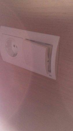 L'Alfas del Pi, Spanje: Rooms are filthy
