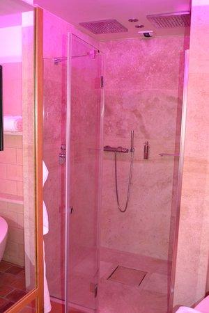 Saulieu, France : douche double