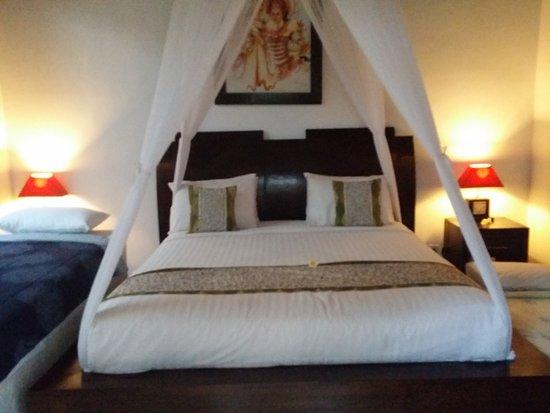 Villa Cantik Tresna : Very comfy beds