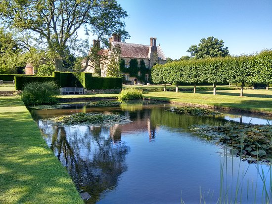 Burwash, UK: House viewed from the Pond
