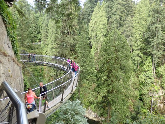Nord-Vancouver, Canada: cliff walk