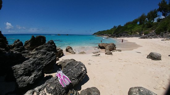 Church Bay : Beautiful beach and great snorkeling!
