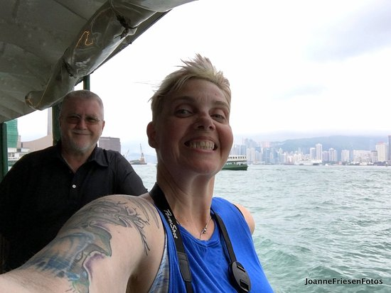 J3 Private Tours Hong Kong: Selfie with Jamie!!