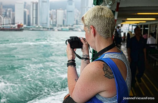 J3 Private Tours Hong Kong: And if you're lucky, he'll take an amazing photo of you enjoying the tour. Can't thank him enoug