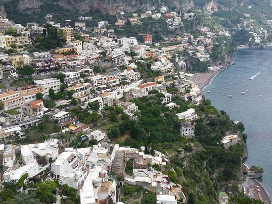 Tour of Italy: First view of Positano