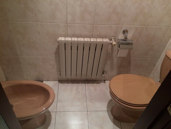 Sant Julia de Loria, Andorra: Inodoro separado del resto del baño