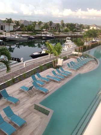 Resorts World Bimini: From balcony.