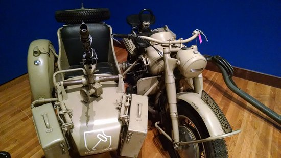 Thomas D. Clark Center for Kentucky History : BMW WWII era Motorcycle and Side Car
