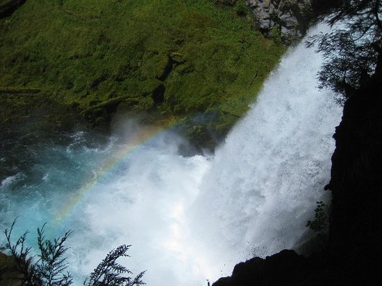 Sisters, OR: Rainbow at Sahalie
