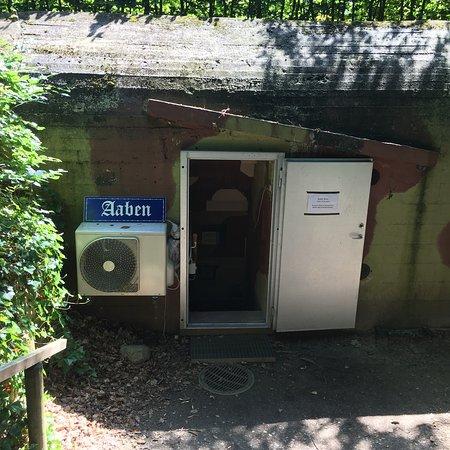 Indgangen Til Silkeborg Bunker Museum Billede Af Silkeborg