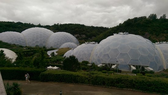 Mawgan Porth, UK: eden project