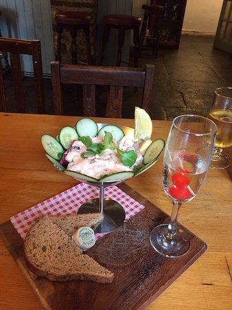 The Pheasant Inn & Restaurant: Prawn cocktail