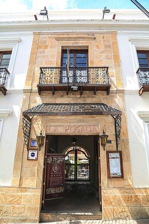 Hotel Boutique La Posada: Fachada Hotel La Posada