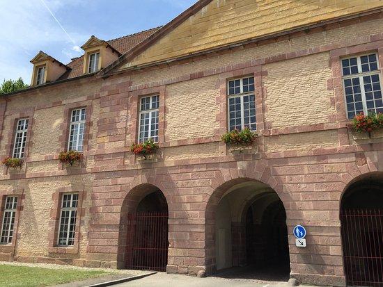 Neuf-Brisach, France : museo dentro una delle porte d'accesso