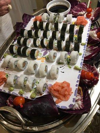 Reina Isabel Hotel: Sushi im Abendbuffet