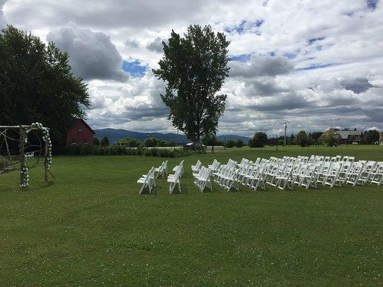 Tourterelle Restaurant: Wedding set up