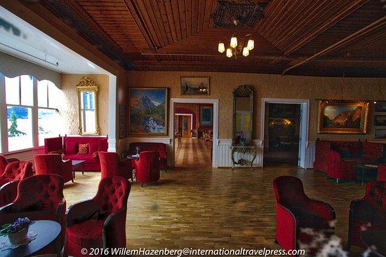 Balestrand, Noruega: Binnenruimte hotel om te zitten