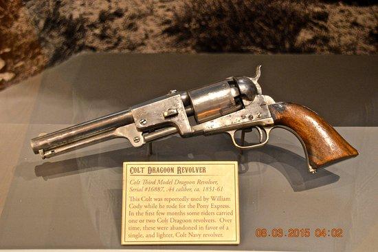 Golden, CO : Possibly Buffalo Bills Pony Express Gun