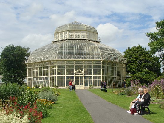one of the greenhouses at the dublin botanic gardens picture of national botanic gardens