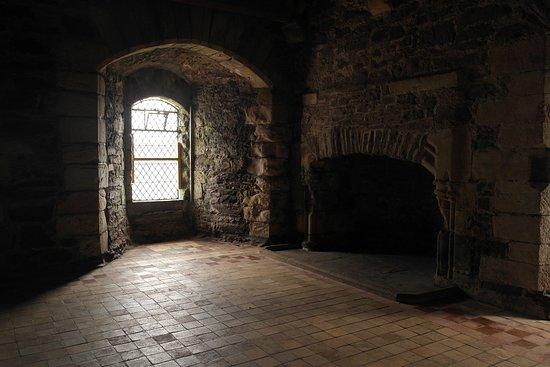 Doune, UK: Doune Castle (14th Century), Central Scotland..