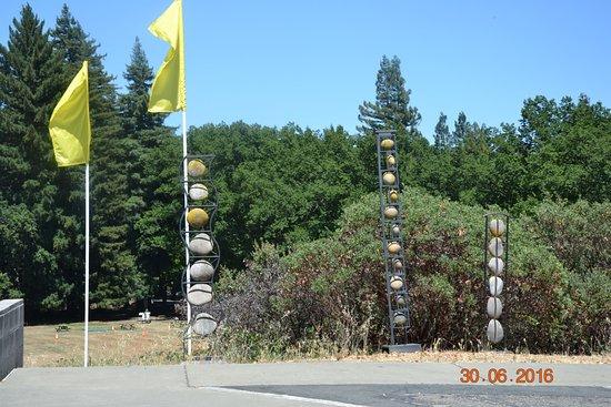 เยานต์วิลล์, แคลิฟอร์เนีย: Камни перед музеем.