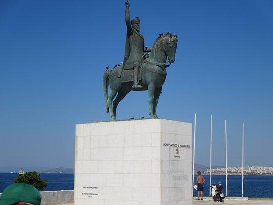 Statue of Constantine Palaeologos