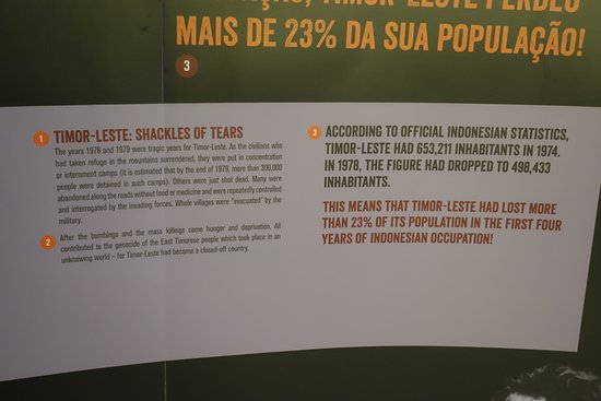 The Archives & Museum of East Timorese Resistance : Inside