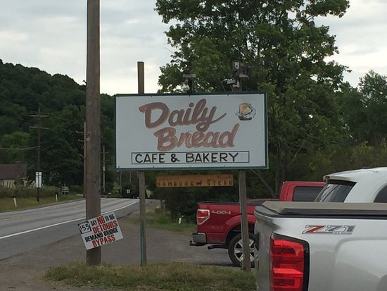 Port Allegany, Pensylwania: Daily Bread Bakery and Cafe