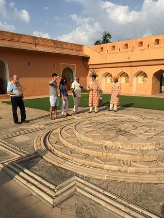 The Oberoi Rajvilas: Tour of Mr. Oberoi's private residence in Jaipur