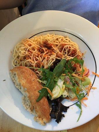 Seaton, UK: Vegan Spaghetti Bolognese