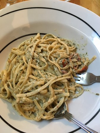 Seaton, UK: Vegan Creamy Linguine