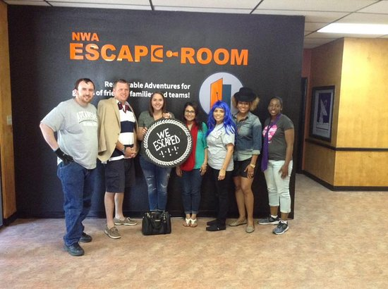 Fayetteville, AR: What a fun time at the NWA Escape Room