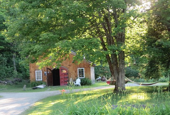 pottery shed and hammocks! - Picture of Wilder Farm Inn and