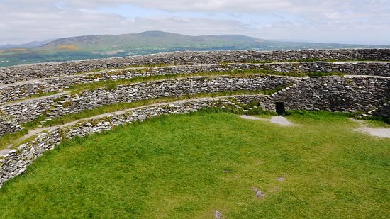 Grianan Aileach Ring Fort: Innen