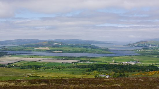 Grianan Aileach Ring Fort: Ausblick