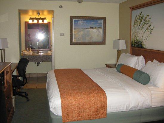 BEST WESTERN PLUS Siesta Key Gateway: Cosy room
