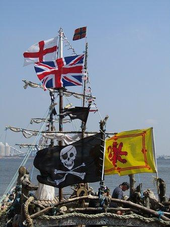 New Brighton, UK: The Black Pearl Pirate Ship