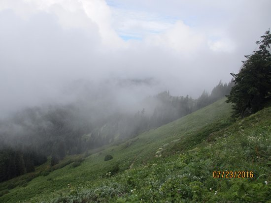 Concrete, WA: Lots of clouds the day we hiked, but still beautiful and well worth the trip