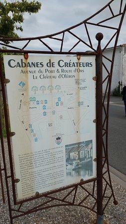 Le Chateau d'Oleron, Frankreich: Cabanes de Créateurs