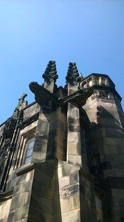 Lancaster, UK: Church facade