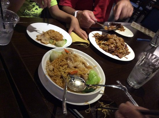 Rancho Cucamonga, CA: Chow mein, excellent chow fun
